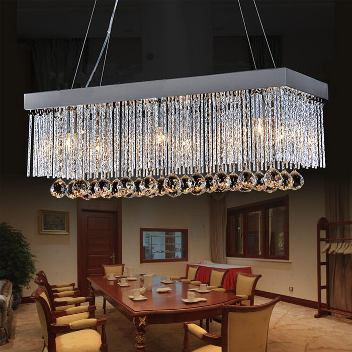European Simple Fashion K9 Crystal Chandeliers -(AC110V/220V)<br><br>Aliexpress