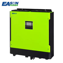 EASUNPOWER Hybrid Solar Inverter 5500W 48V 220V Grid Tied Inverter 6500W MPPT Inverter Pure Sine Wave Inverter 60A AC Charger(China)
