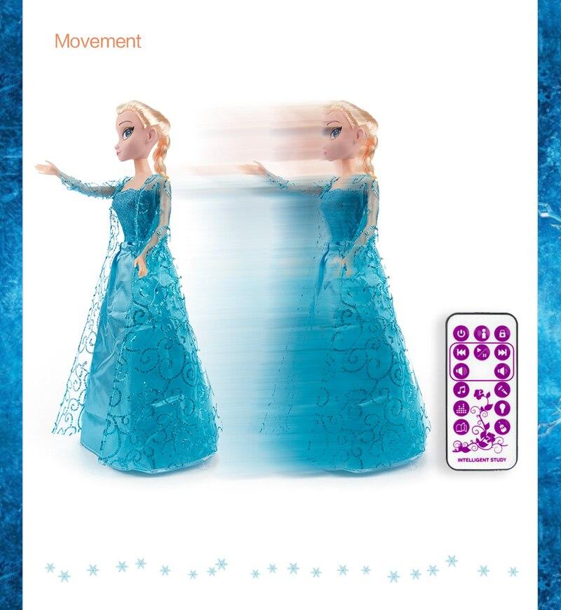 Laulvad ja tantsivad Anna ning Elsa