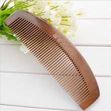 Natural Sandalwood Combs cepillo de pelo hairbrush Wide Tooth No-static Massage Hair Brush Health Wooden Comb massager peine