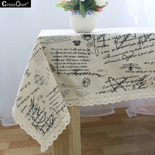 Hot sale  European style lace tablecloth waterproof for table coffee table fashion classic tablecloth on the table