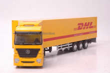 1:50 Benz DHL Truck Toys Mini Car Brinquedos Diecast Truck Miniature Collection