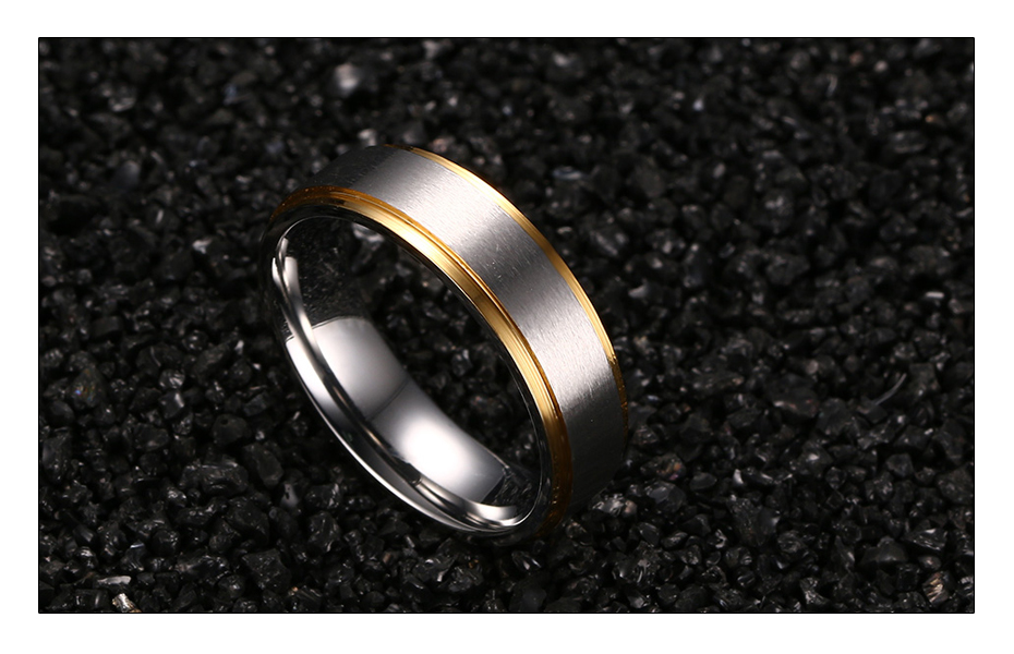 Meaeguet Classic Couple Wedding Rings For Men Women Titanium Steel Lover's Engagement Wedding Bands Alianca De Casamento (8)