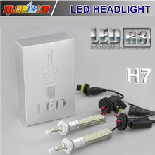 R3 80W 9600LM Car H7 LED Headlight H1 H3 H4 H8  H11 9005 HB3 HB4 9006 5202 H16xenon white 6000K R3 XHP-50 Car LED Headlight Bulb