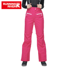 RUNNING RIVER Brand Women Ski Pants For Winter 2 Colors 4 Sizes Warm Outdoor Sports Pants High Quality Winter Pants #O6452(China)