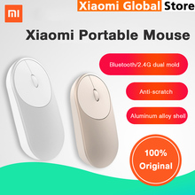 Original Xiaomi Mouse XMSB01MW Portable Wireless Mouse Optical Bluetooth 4.0 RF 2.4GHz Dual Mode for Gaming Gamer Computer(China)