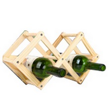 3 Bottles Red Wine Rack Alcohol Beer Care Holder Home Table Bar Supplies