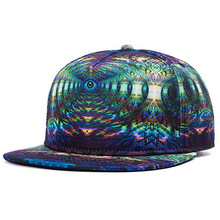 New Arrivals Baseball Snapback Caps Fantasy Eye Design 3D Heat Transfer Print Hat Wholesale Easter Day Hats