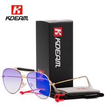 Aviate Chic Flat Top Sunglasses Men Double Bridge Pilot Sun Glasses Women Gold Aviation Sunglass Mirror Gafas De Sol KDEAM CE