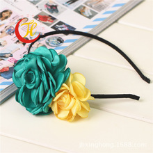 korean kids children baby girls hairband Hairbands range hoop for hair clasp head band scrunchy ribbon accessories headwear rose