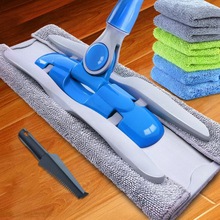 341208/Household flat mop/360 degrees can be rotated/Easy to clean/durable/ Double - row Tooth Clamp Design/Spring design