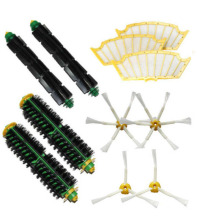 High Quality Can Track Bristle & Flexible Beater Brush Armed Filter kit for iRobot Roomba 500 Series 520 530 540 550 560(China)