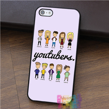 Youtubers Avatar fashion cell phone case for iphone 4 4s 5 5s 5c SE 6 6s 6 plus 6s plus 7 7plus #B1732