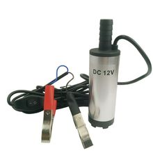 12V DC Diesel Fuel Water Oil Car Camping Fishing Submersible Transfer Vortex Pump