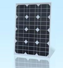30W Cutting cell Mono/Monocrystalline solar panel, PV module for 18V home system and application(China)