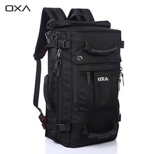 OXA New 40L Professional Camping Hiking Backpacks Outdoor Sports Bags Cycling Travel Backpack Mountaineering Bag Black color