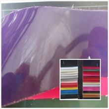 mirror style synthetic leather fabric PVC faux leather textile fabric 69 color 1 MM for bag decorative leather fabric