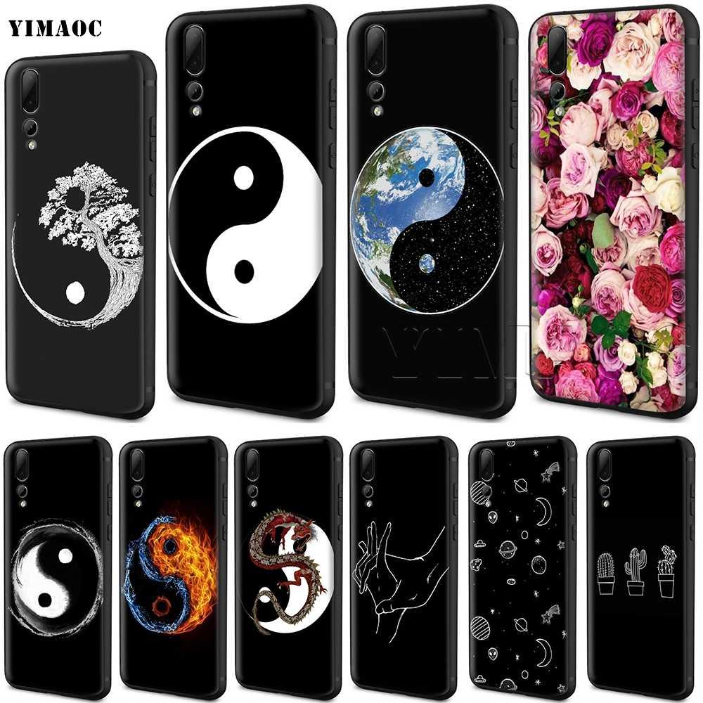 coque yin yang huawei p8 lite 2017