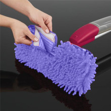 Replacement Paspas Pad For Flat Mop Heads Mops Floor Cleaning Pad Chenille Flat Mop Head Replacement Refill Head To Floor Mops