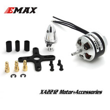 Best Deal Emax XA2212 820KV 980KV 1400KV Brushless Motor With Motor Accessories Set RC Motor For RC Models Helicopter(China)