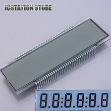 ED139 5V TN Positive 6 Digit 7 Segment LCD Digital Display Panel Static (Without LED Backlight) For Tanker 137.16x46.38x2.8mm(China)