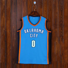 Adsmoney Round Neck Blue Basketball jersey Team Name Custom American star Breathable Throwback Sleeveless Basketball Uniform(China)