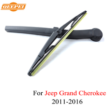 QEEPEI Rear Wiper Blade and Arm For Jeep Grand Cherokee WK2 14'' 4 door SUV High Quality Natural Rubber Windshield Wiper