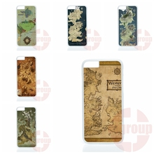 2016 westeros map game thrones For Moto X1 X2 G1 G2 E1 Razr D1 D3 For BlackBerry 8520 9700 9900 Z10 Q10 Original