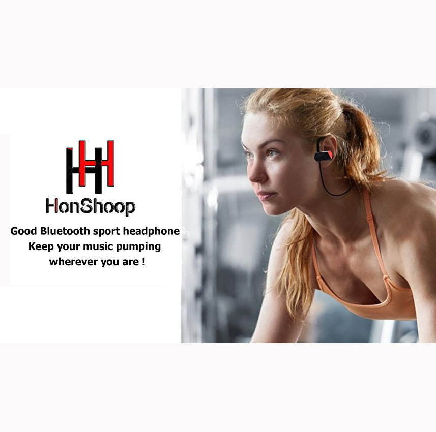 bluetooth Headset Workout Earphones Sport headphones + Bluetooth Headset Car Driver Bluetooth Headphones Compatible with iPhone