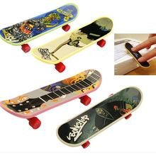 1Pc Party Favor Toy Kids children Mini Finger Board Fingerboard Skate Boarding Toys Gift(China)