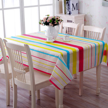 1 Pc 2 Sizes Rectangle Table Cover PVC Plastic Waterproof Oilproof Table Cloth Home Decor Wedding Event Patry Decorations