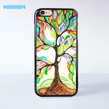 Tree of Life Cell Phone Protective Case For iPhone 7 7 Plus 6 6S Plus SE 5 5S 5C 4 4S Hard Plastic Cell Cover(China)