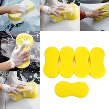 5pcs auto care car Coral wash sponge for wash and cleaning car cleaning products tools Cloth Yellow, blue, red, green, brown
