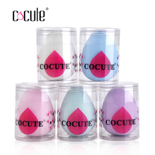Cocute 1pc Resilient Makeup Sponge Flawless Cosmetics Puff Foundation Blending Makeup Sponges Soft Beauty Grow Bigger in Water