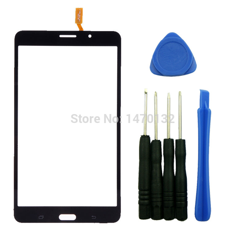 Black Outer Touch Screen Digitizer Glass Panel Replacement for Samsung Galaxy Tab 4 7.0 T231 T233 T235 3G Version with Tools<br><br>Aliexpress