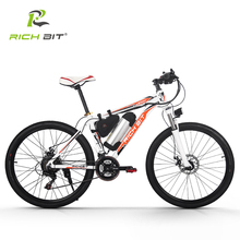 RichBit RT-006 Electric Bike 36V*10.4Ah Lithium Battery Mountain Electric Bicycle 26 inch 21 Speeds MTB EBike 250W Cycling ebike(China)