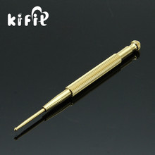 KIFIT Flexible Brass Copper Ear Massage Acupuncture Probe Acupoint Detecting Pen probe Stick Massager