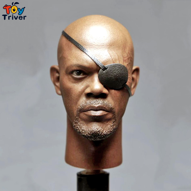 1/6 Scale Male Head Sculpt Accessory Movie Captain America 2 :Nick Fury Head Carving Action Figure Model Dolls Toys<br><br>Aliexpress