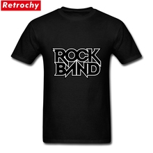 2017 Vintage Short Sleeve Rock Band Logo T Shirt Male O-neck Cotton Heavy Metal Letter Font for Men Tee Merchandise