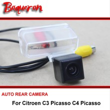 For Citroen C3 Picasso C4 Picasso Night Vision Rear View Camera Reversing Camera Car Back up Camera HD CCD Vehicle Camera(China)