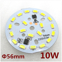 10 pieces SMD5630 5730 Led Light Panel 24W 18W 15W 12W 10W 7W 6W 5W 3W 2W Aluminum Base Plate ac220V directly, no need driver.(China)