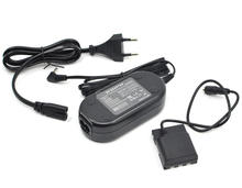 ACK-700 AC Power Adapter supply+DR-700 DR700 DC Coupler NB-2L NB2L dummy battery for Canon S70 S80 Rebel XT XTi EOS 350D 400D