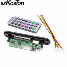 szKosTon Remote Music Speaker w/SD card slot/USB/FM/remote Without bluetooth M011 USB MP3 Decoder Decoding Board Audio Module