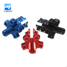 Universal  M8 Anodized Billet Clutch Brake Cable Wire Adjuster Motorcycle Bike