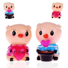 Fashion 1 Pair Car Ornaments Couple Dolls Car Decoration Interior Accessories dropshiping jul6(China)