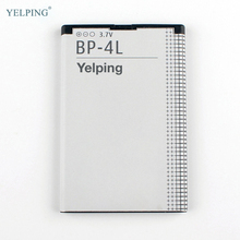 Yelping BP-4L Mobile Phone Battery For Nokia E52 E55 E6 E63 E71 E72 E73 E90 N97 6650T N810 Replacement Battery BP-4L 1500mAh