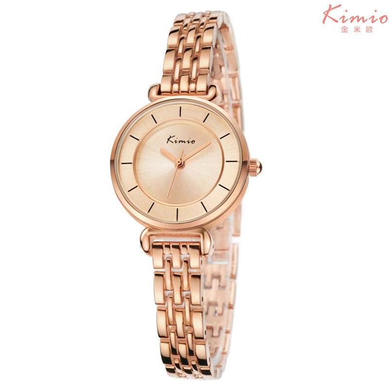 KIMIO Brand Magic New Fashion Lady Gold Watches Women Full Stainless Steel Quartz Wristwatches Relojes Mujer Relogio Feminino<br><br>Aliexpress