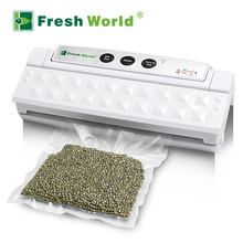 Home Vacuum Sealer Packing Machine For Food Saver Black Automatic Electric Best Sealer Vacuum Package Sealing Packers Hot Sale(China)