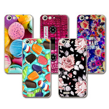 Lovely Fashion Coloured Painted Phone Cases ZTE Blade X7 Case Cover Cute Art printed Flower fundas ZTE X7+Free Pen Gift