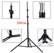 New arrive 240cm 95inch Portable Photo Video Light Stand Studio Stand tripod For DSLR Camera/Speedlite Softbox photography(China)